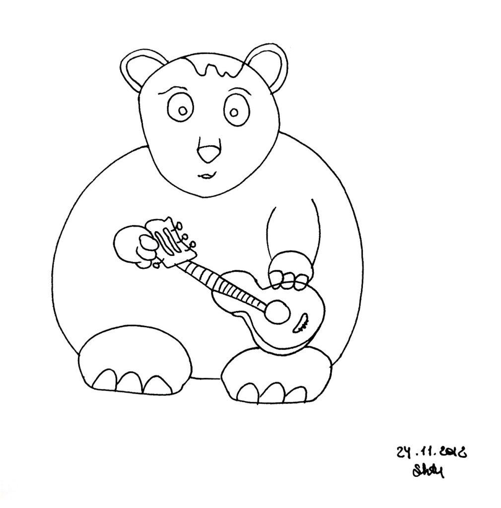 BearWithGuitar