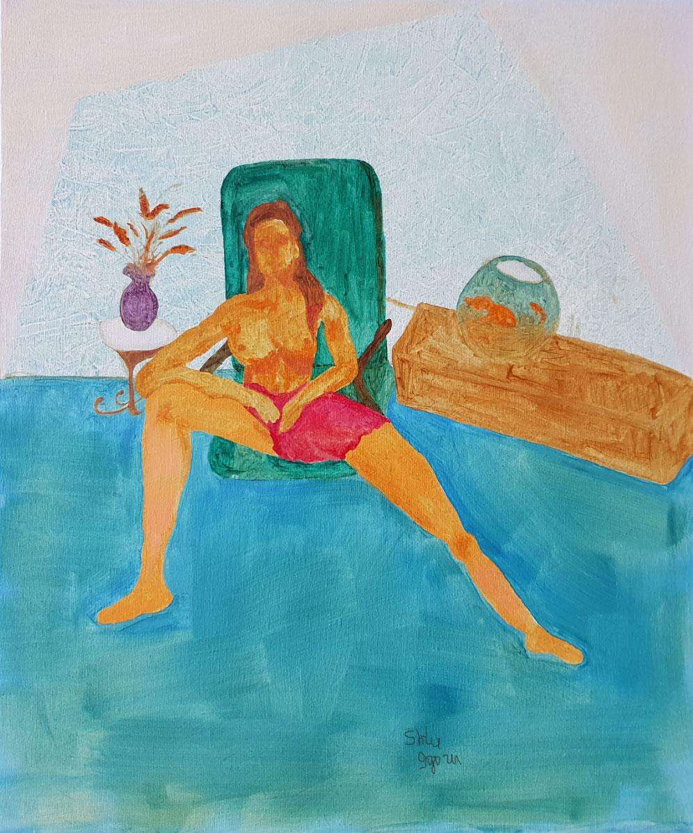Nudes blue marine (2018)