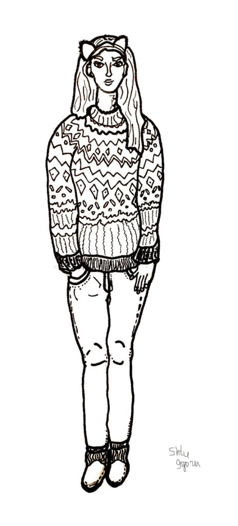 PinkHairGirl_inSweater