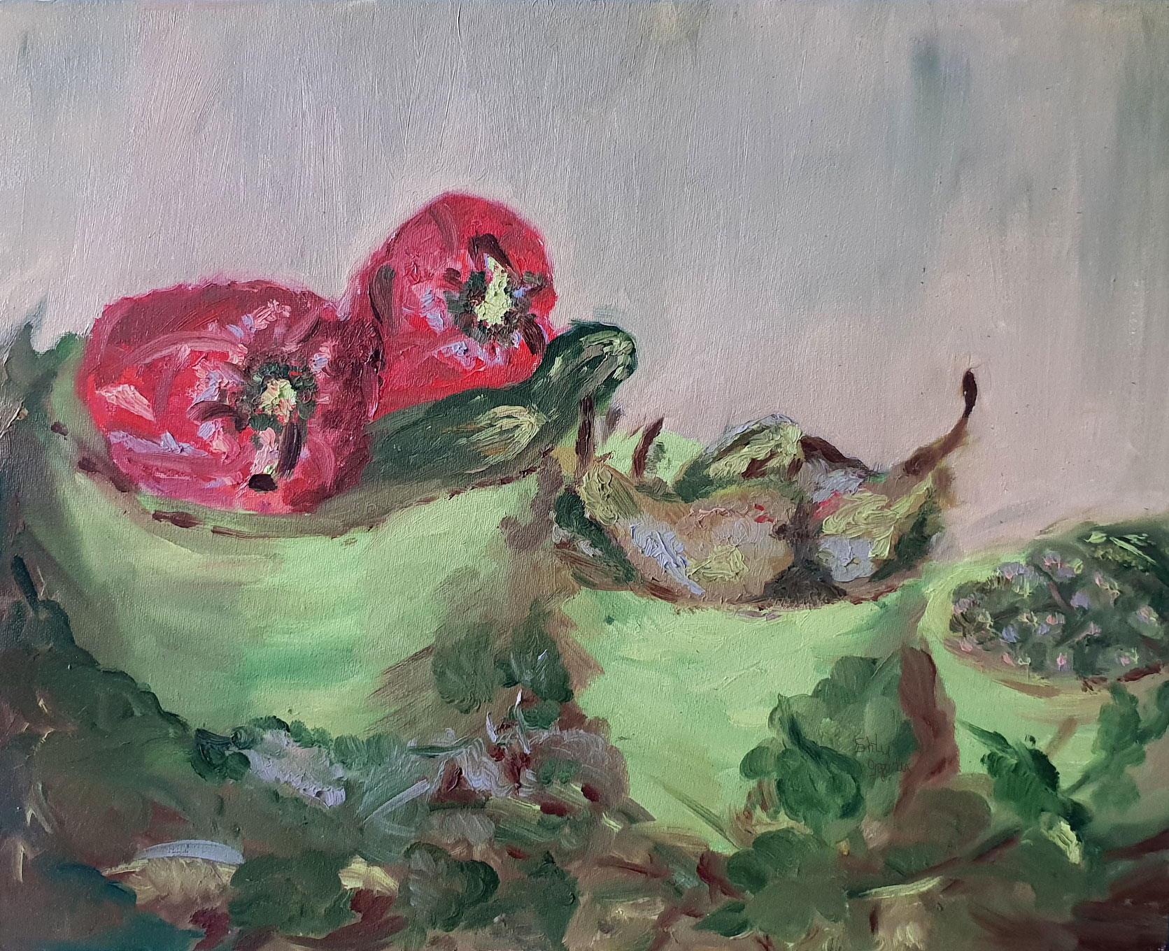 Red Papper Nature Morte (2017)