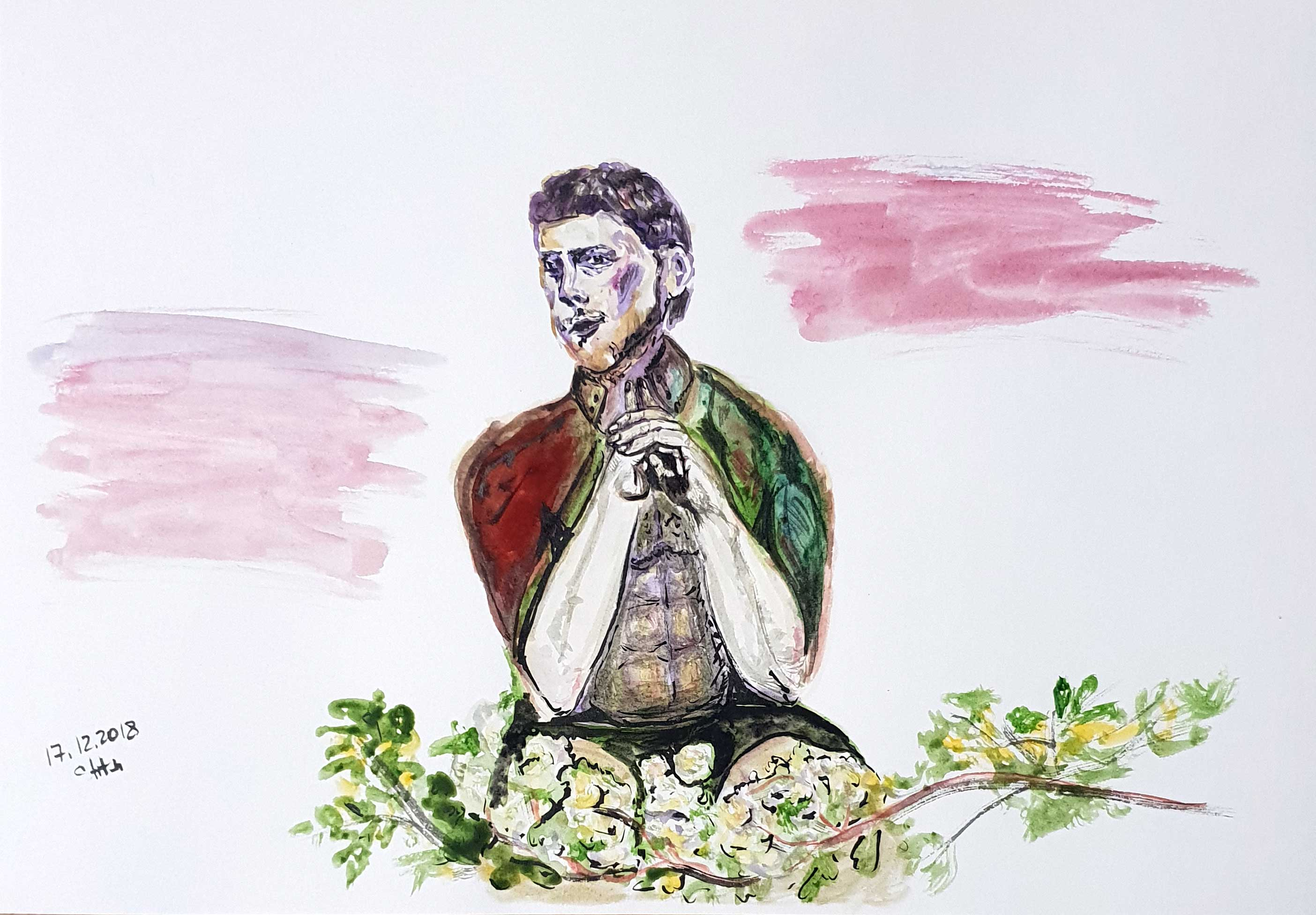 Rhododendrone man