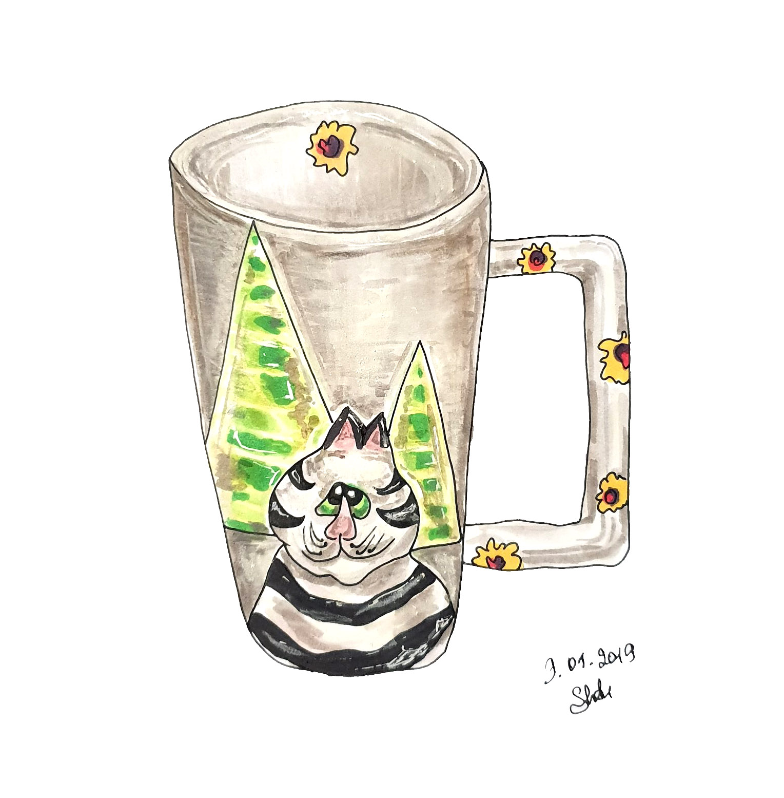 Cup With Cat