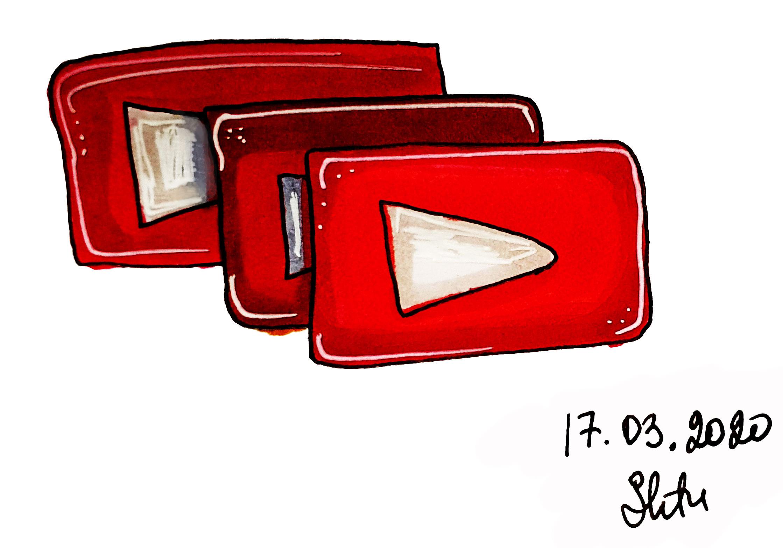 copy youtube video button