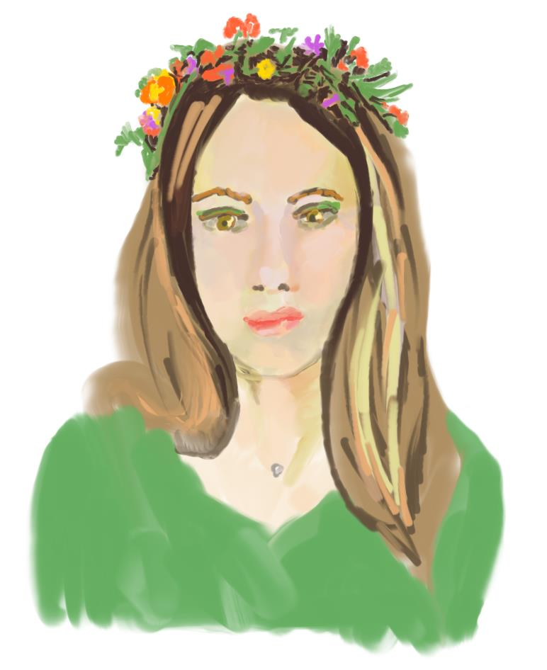 Shtukensia self portrait